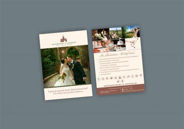 """Postkarte 2016 """"Hochzeit"""""""
