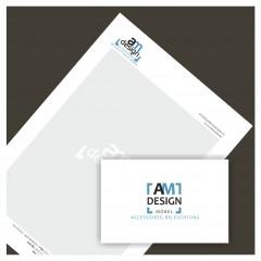 """Logo & Geschäftsausstattung """"AM design"""""""