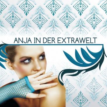 Visitenkartengestaltung für Anja (mit partiellen UV-Lacken auf der Front / Vorderseite Jahr 2011)