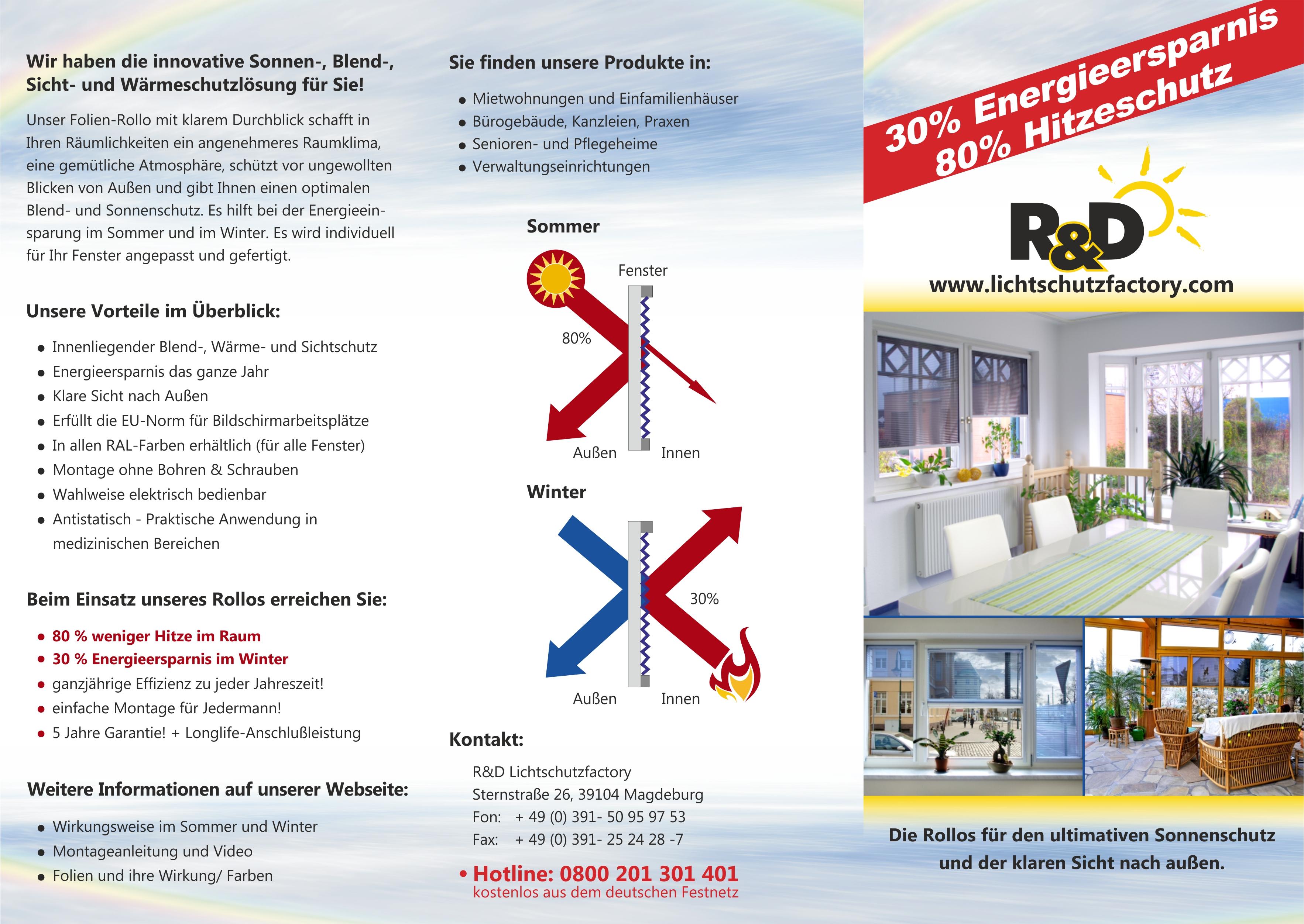 flyer r&D lichtschutz front