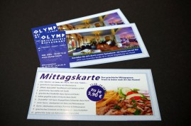 2013 / Restaurant Olymp Flyer