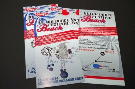 2014/ Beach Festival Schachtsee Flyer