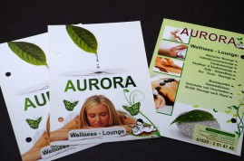 2009/ Aurora Wellness Flyer