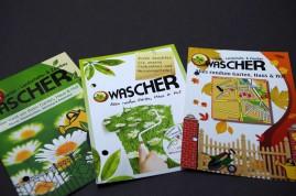 2009/ Wascher Gartenbau Flyer