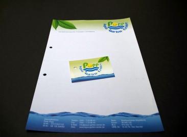 Briefbogen und Visi