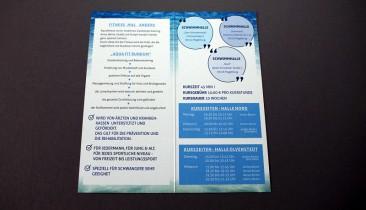 Faltblatt 300g Recyclingpapier
