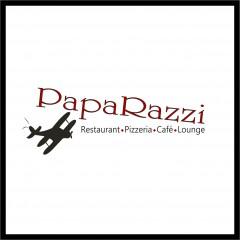 """Logo, Visitenkarten & Briefbogen, Flyer, Speisekartengestaltung """"Paparazzi"""""""
