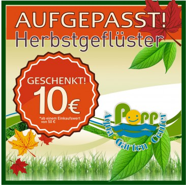 Anzeige Popp Aqua Garten