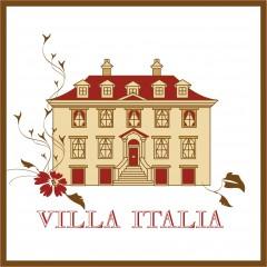 """Speisekartengestaltung """"Villa Italia"""""""