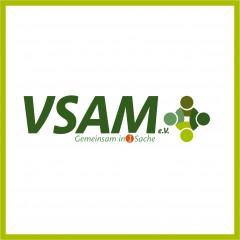 """Logo, Visitenkarte und Webseitenvorlage """"VSAM eV"""""""