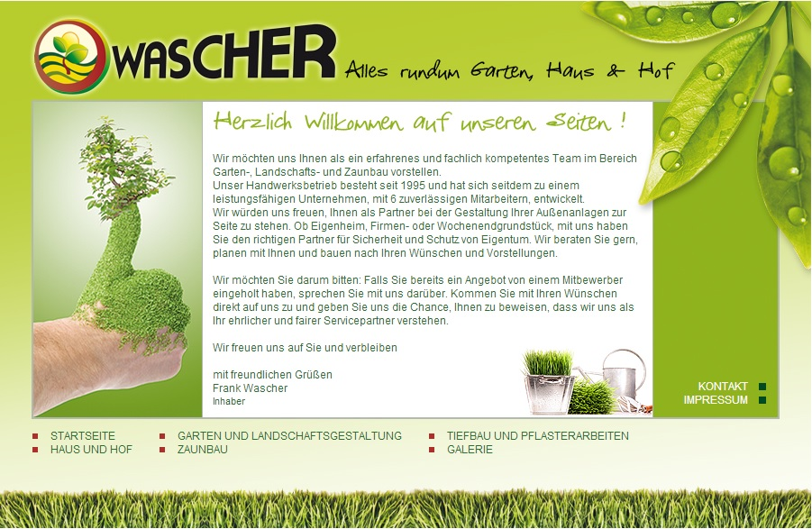 wascher web